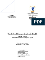 Communication Effective Health Education to the Youth(Communication Research)