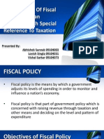 Fiscal Policy of India