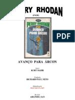 P-038 - Avanço Para Árcon - Kurt Mahr