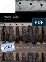 TOM's Shoes Case Study