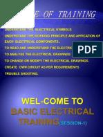 Basic Electrical Training Session-1