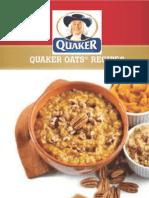 Quaker Oats Recipe Book
