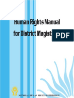 Human Rights Manual for District Magistrates(India)