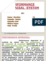 Ppt Performance Appraisal