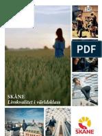 Budget Region Skåne 2012