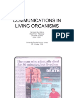 Communications in Living Organisms