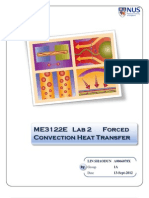 ME3122-2 Lab Forced Convection Heat Transfer