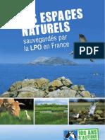 Espaces Naturels sauvegardés par la LPO en France