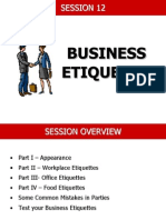 Business Etiquettes Grooming