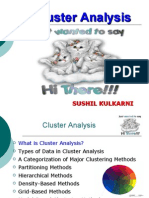 Cluster Analysis in data Minining