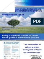 Boeing CLEEN Projects Briefing