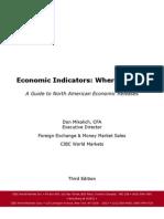 USA Canada Economic Indicators