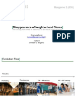 Disappearence of Neighborhood Stores