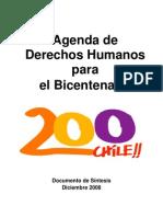 ai - agenda de derechos humanos para el bicentenario - chile - 2008