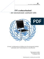The reducibility of the United Nations (Danish)