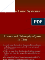 Just in Time Systems