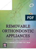 Removable Ortho Appliances
