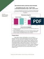 Maine DDS Program 4th Quarter Report