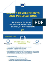 Recent Developments and Publications