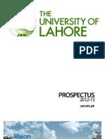 The University of Lahore Prospectus