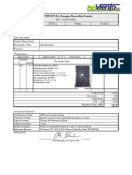 73-0712 Proforma SFV100Wp