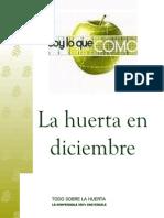 La Huerta en Diciembre