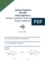 Clase 14 Sales Organicas