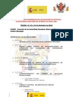 Programa Curso Mandos Intermedios en Actuaciones en Edificios Catalogados Como BIc. Toledo