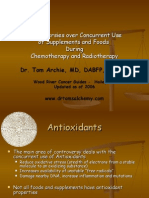 Cancer Chemo Radiation Concurrent Supplements