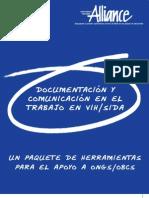 alliance - documentacion y comunicacion en el trabajo en vihsida