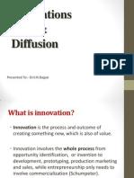 Innovations & Diffusion