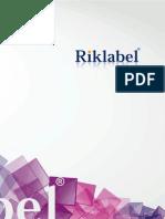 Riklablel Catalog