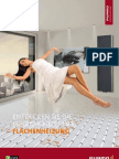 Purmo Prospekt Flächenheizung für Endverbraucher