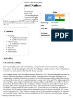 India and the United Nations - Wikipedia, The Free Encyclopedia