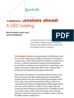 McKinsey - Talent Tensions Ahead