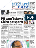 Manila Standard Today - Thursday (November 29, 2012 ) Issue