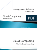 Cloud Computing Prentation Hasan