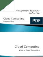 Cloud Computing Prentation Hasan