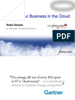 Running Your Business on the Cloud