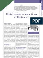 Faut-il craindre les actions collectives ?, par S. de Silguy