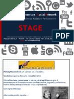 Stage Crea Il Tuo Successo Con i Social Network