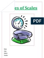 Types of Scales