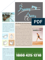 Running for Ability Poster