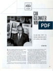 Can Goldwater Win in '64