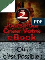 2 jours pour créer votre Ebook