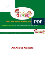 More Animals Ppt