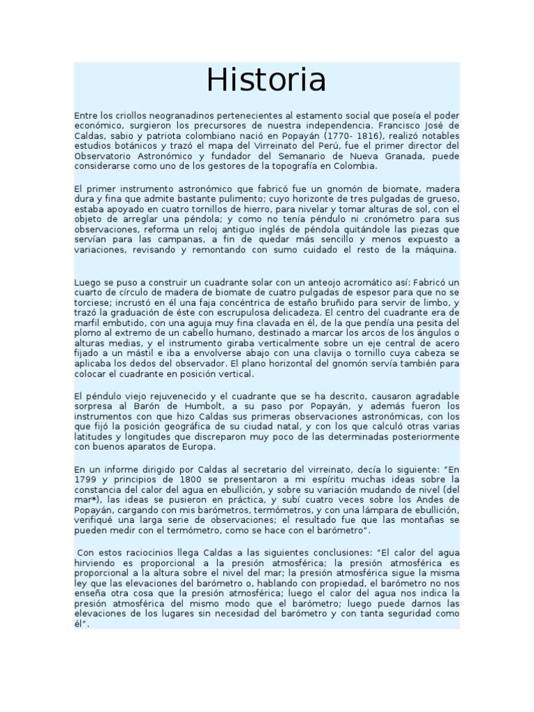Historia Del Ing. en Topográfia