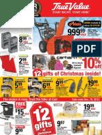December Sales Flyer