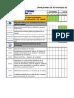 Copia de Plan de Trabajo Calidad Iso 9001-2008