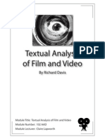 Textual Analysis of Film and Video - Module Number 102 AAD